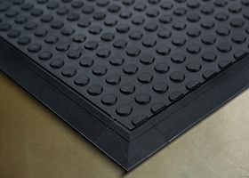Safety mats, edges and relays protect operators