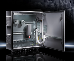Small and compact wall-mounted enclosures provide durable protection for many applications