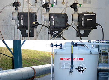 Thermal energy plant efficiency starts with reducing high pH in cold water loop