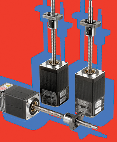 Closed loop linear actuator operates at high torque