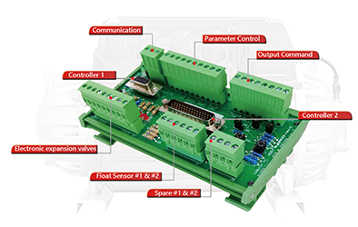 Custom interface module designed to compressor specs