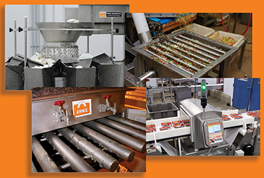Equipment improves material handling throughout food processing operations
