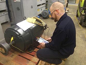 Increased revenue results from expanded motor testing capabilities