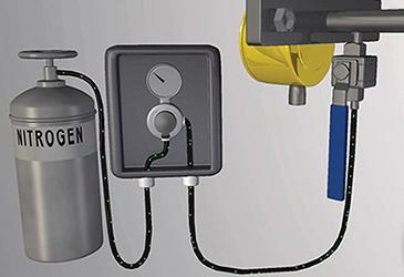 Flow meter calibration verification on offshore platforms