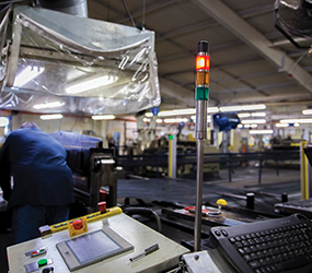 Industrial stack lights offer 3-year warranty