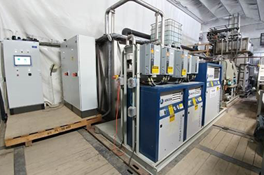 Membrane filter system provides wastewater treatment in Saskatoon