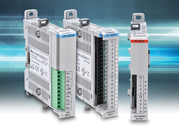 PLC I/O capabilities increase with additional modules