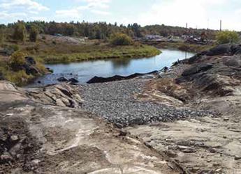 An award-winning mine area clean-up