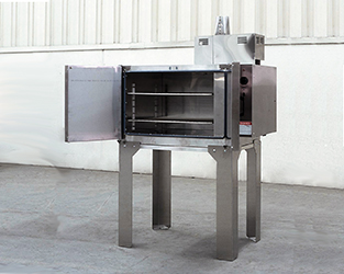 Electrically-heated bench over reaches 350°F