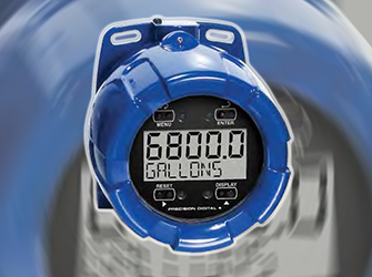 Explosion-proof process & level meter
