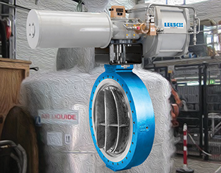 Triple offset butterfly valve suitable for cryogenic applications