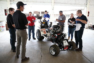 Canadian students compete at international tractor engineering design competition