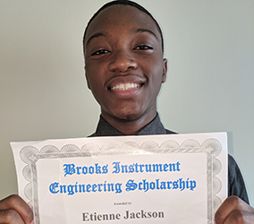 Brooks Instrument offers scholarship second year in a row
