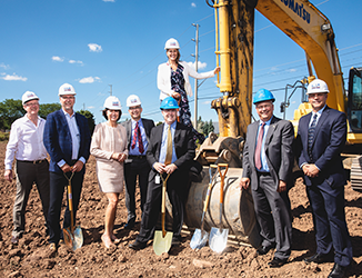 Endress+Hauser Canada breaks ground at new Customer Experience Centre