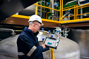 Hazardous zone device configuration tablets