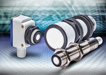 Ultrasonic proximity sensors provide 60 to 8000 mm sensing distance