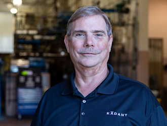 Kadant Johnson appoints Bill Covell R&D controls specialist