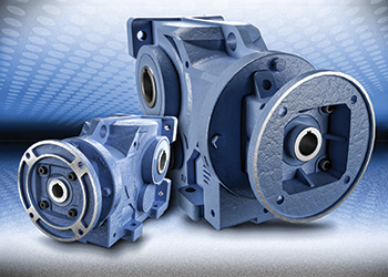 Helical bevel gearboxes sport cast-iron frames