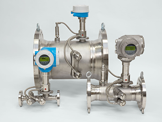 Process flowmeters measure wet and dry gases