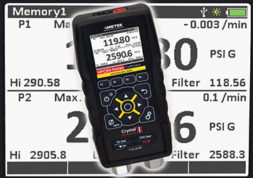 Intrinsically safe pressure calibrator