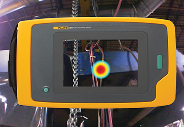 Imager inspects for air and vacuum leaks