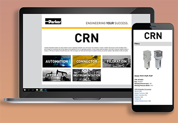 Parker Canada introduces CRN landing page