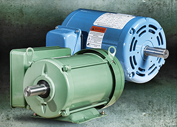 Farm duty and open drip-proof motors feature high starting torque