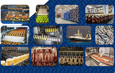 Oil shear brakes & clutches brochure for food & beverage processing