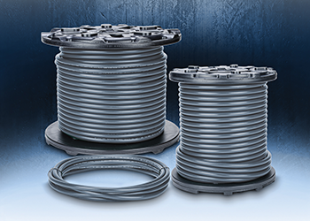 Continuously flexing multi-conductor control cables