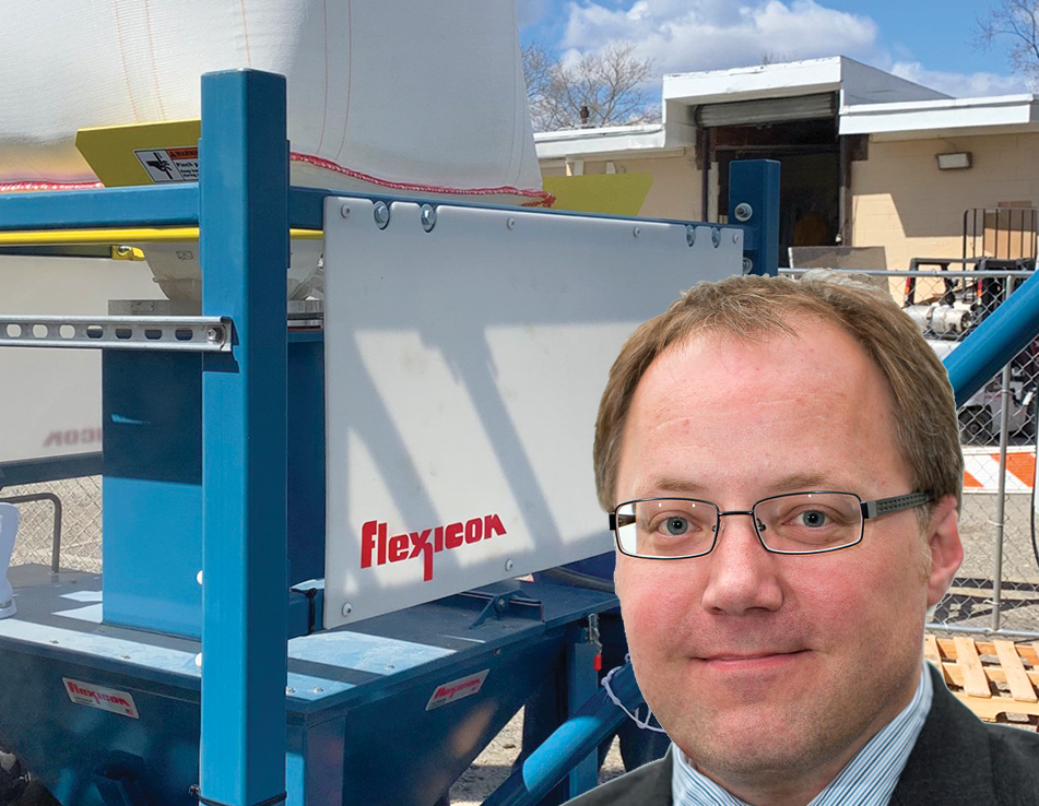 Weatherable discharger aids bio-cleanup project of contaminated groundwater
