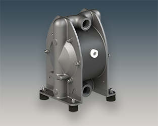 Stainless-steel AODD replaces legacy pumps