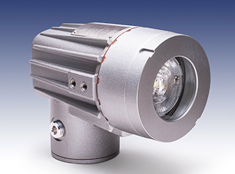 Explosion-proof LED light for critical process observation