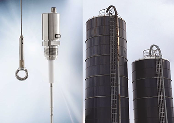 Silo stainless steel rope sensor with no dead zone