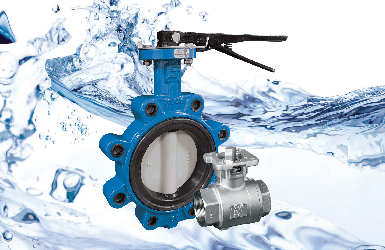 Ball and butterfly valves are NSF 61 & 372 rated