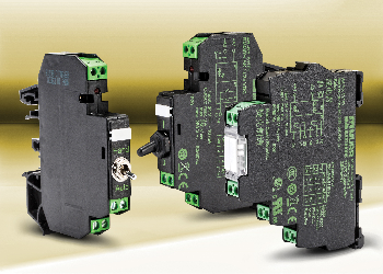 Optocoupler and slim interface relays, multi-mode relay timers introduced