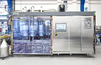 Proven keg filler technology revamped to ensure exact racking measurement results