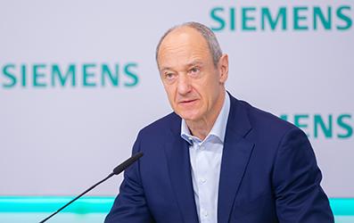 Roland Busch succeeds Joe Kaeser as Siemens president and CEO
