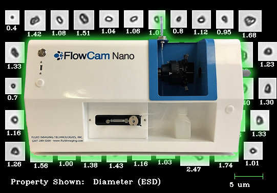 Flow imaging microscopy for produced water analysis