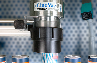 Air conveyor converts standard pipe to convey in corrosive environments