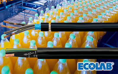 Helukabel PVC control and motor cables receive Ecolab certification