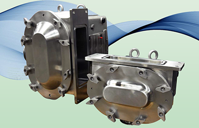 Circumferential piston pumps suitable for hygienic applications