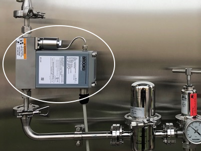 Application: Malt producer and brewer innovates processes using mass flow controller with NEMA4X/IP66 enclosure