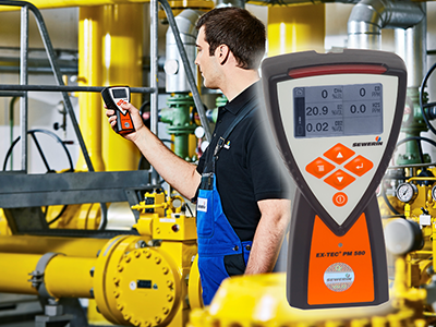 Mobile gas devices provide detecting, measuring and warning