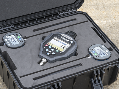 Hydrostatic test kits provide step up from chart recorders